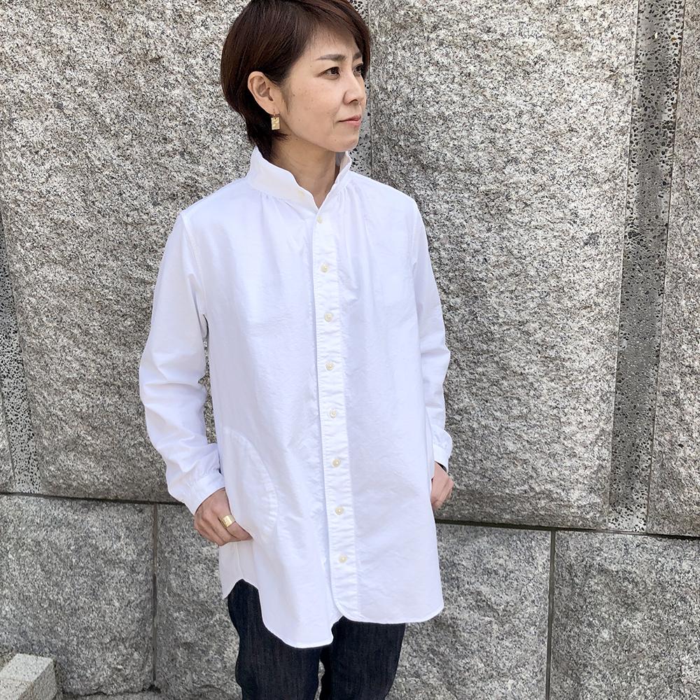 Dana Faneuil・ダナファヌル オックスフォードスタンドシャツ